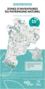 Nouvelle-Aquitaine : Une mosaïque de territoires - ZONES D'INVENTAIRES DU PATRIMOINE NATUREL