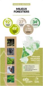 Nouvelle-Aquitaine : Une mosaïque de territoires - MILIEUX FORESTIERS